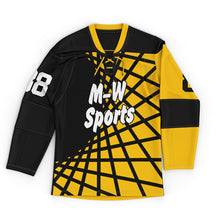 2019 M-W Sport 100% Polyester Ice Hockey Jerseys Wholesale And Hockey Pants Plus Size Custom