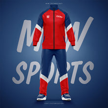 2019 M-W Sports Youth Team Sports Polyester Jacket Uniform Tracksuit Training Suit