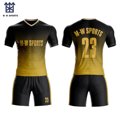 535310e6 2019 Custom Sublimated Football Soccer jerseys shirt & short with your team  Logo, name and