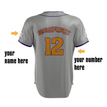 M-W Sports Professional Sublimation Top Quality Team Customized Black Baseball Jerseys