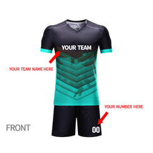 online custom soccer uniform set add team name,your name and number