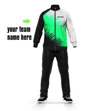 2019 Custom OEM Service Mesh Fabric Tops Make In China Soccer Tracksuit Sportswear Men's Tracksuits