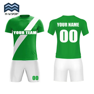 classical Jerseys Design Diagonal Stripe Soccer Jerseys add team name ,your name and number