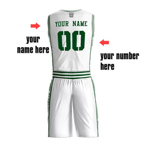 Custom Various Colors Print Your Name Dry Fit V And Round Neck Jersey Basketball