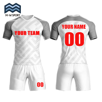 custom soccer jerseys with your team name and number