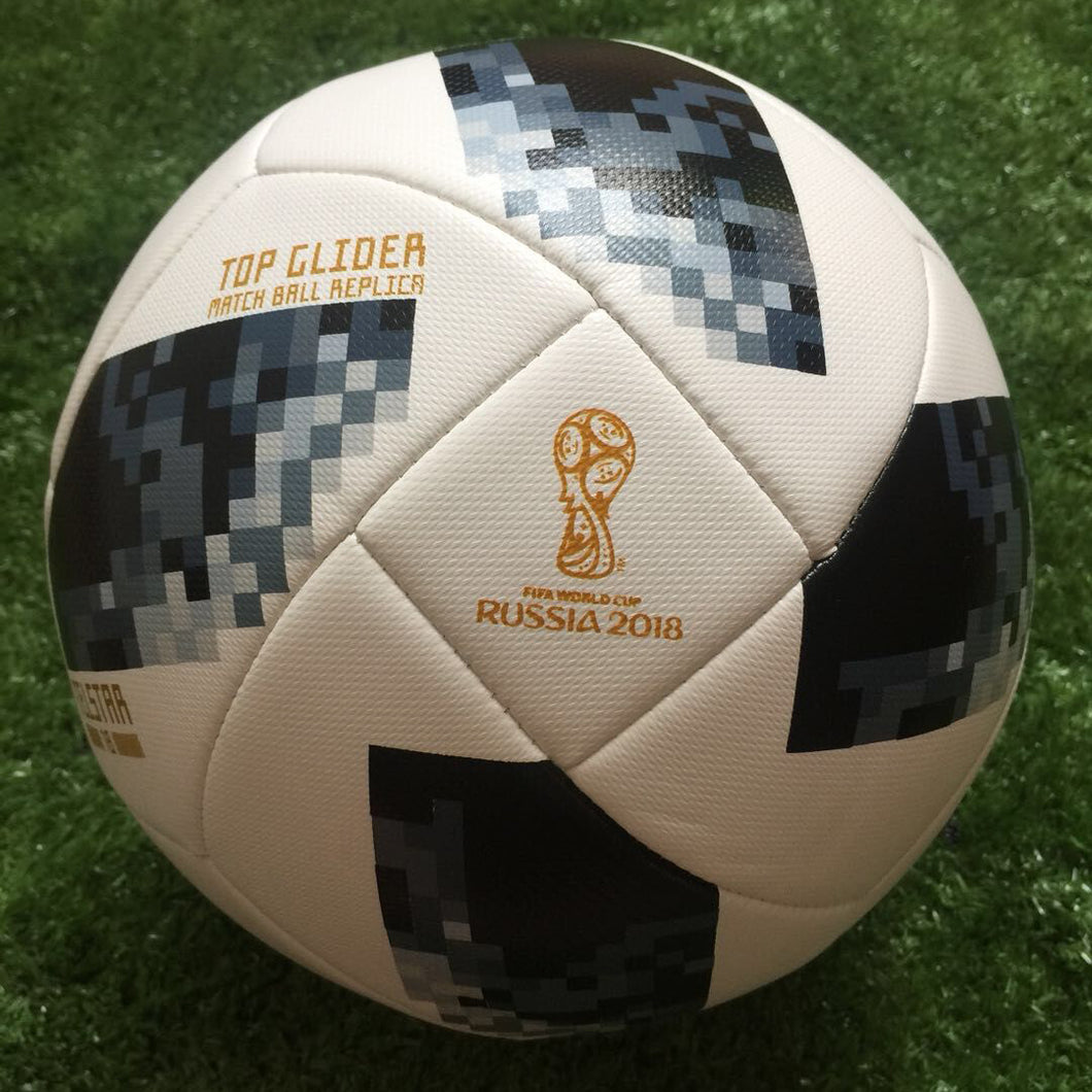 wholesale custom 2018 world cup top glider soccer ball