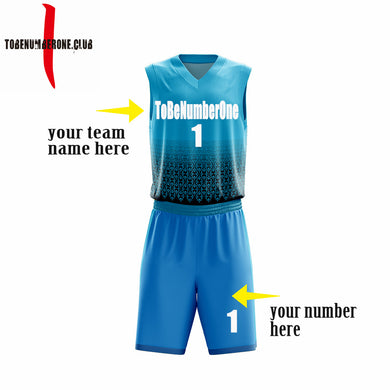 Sublimated basketball jerseys online custom team name and number