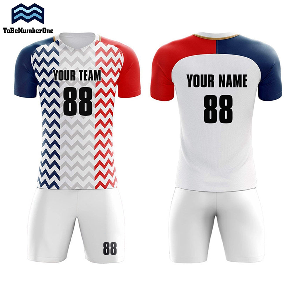 Custom Sportswear 2018-2019 France Away Concept Football Shirt