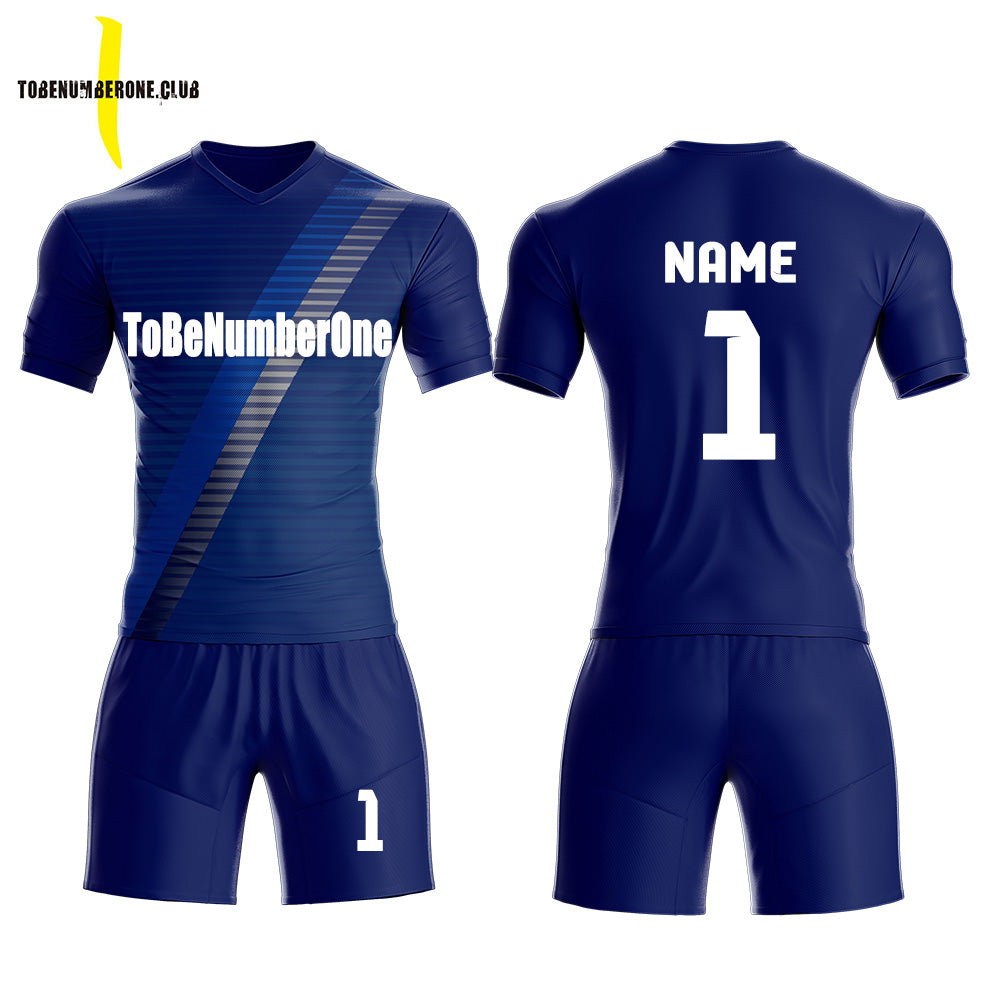 sneakers for cheap cb656 ce59f Blue Jerseys Sublimated Custom Soccer Team Uniform