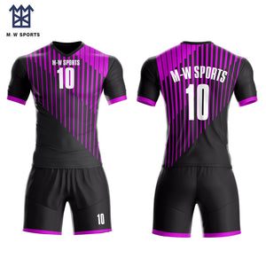 Custom Sublimated Football Soccer jerseys with your team Logo, name and player name ,number