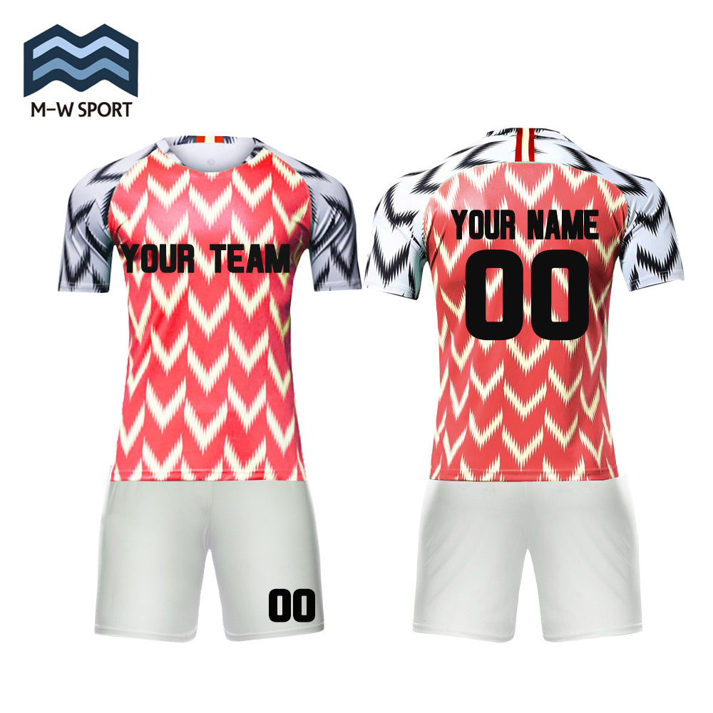 7b16fe9c2 ... wholesale custom 2018 nike Nigeria Home and away soccer jerseys Make  Your Own soccer Jersey set