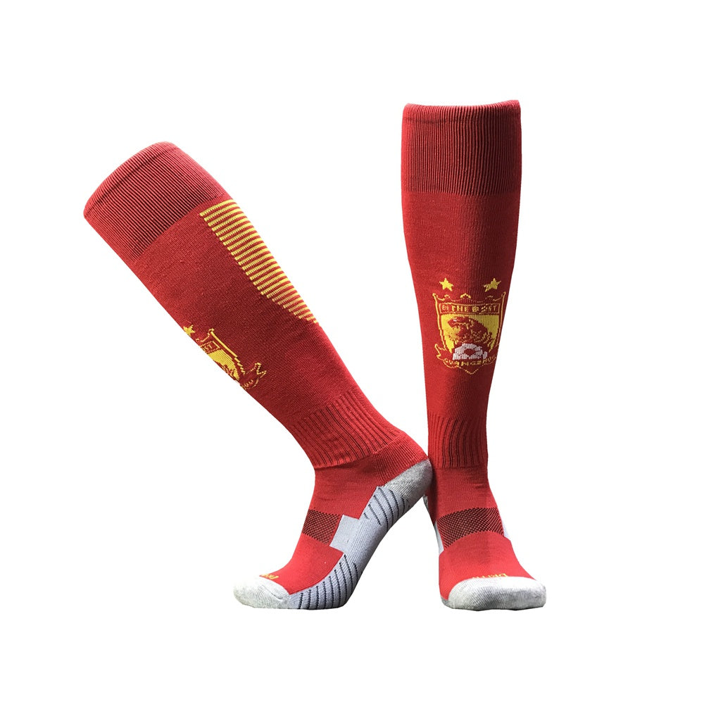 Youth High Quality Popular Design Sublimated Socks Football Equipment