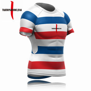 2019 M-W Sports Custom Sublimated Quick Dry Rugby Jerseys Shirts Plus Size
