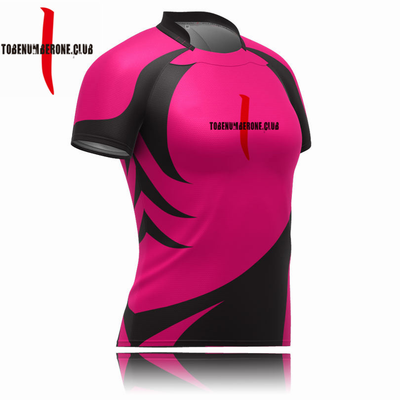 2019 Breathable Fabric Jersey Rugby Shirt With Your Name And Number