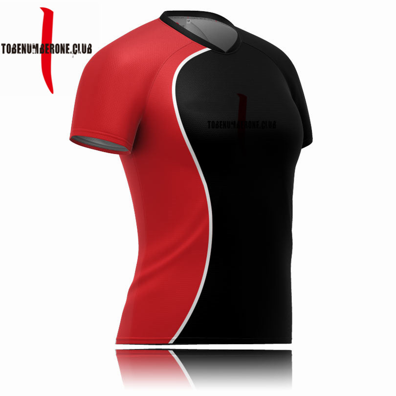 OEW Service Wholesale Custom Slim Fit Rugby Jersey Sublimation Rugby Shirt