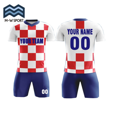 DIY Professional Custom Men's soccer jerseys in Top quality