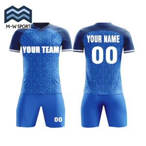 Factory wholesale thai quality dri fit custom soccer jerseys football shirt