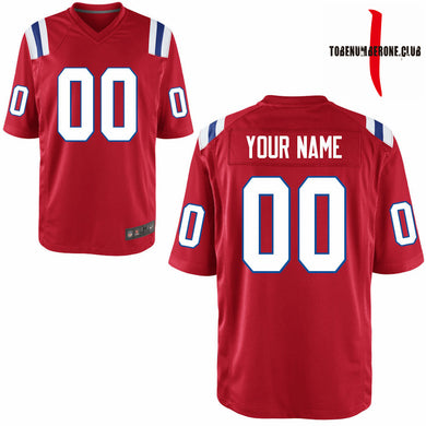 Wholesale Red Football Jerseys  men/youth's Any Name and Numbers