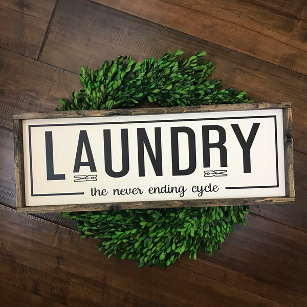 Laundry | The Never Ending Cycle