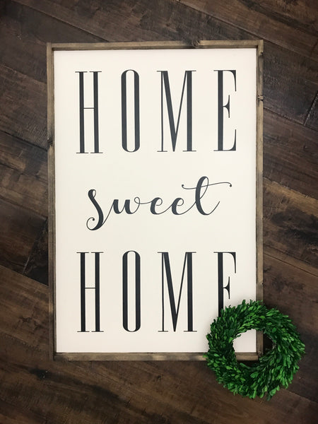 (XL) Home Sweet Home - Ivory