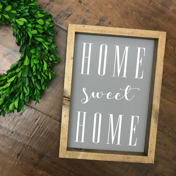 (XS) Home Sweet Home - Grey