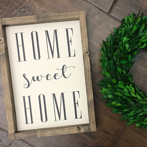 (XS) Home Sweet Home - Ivory