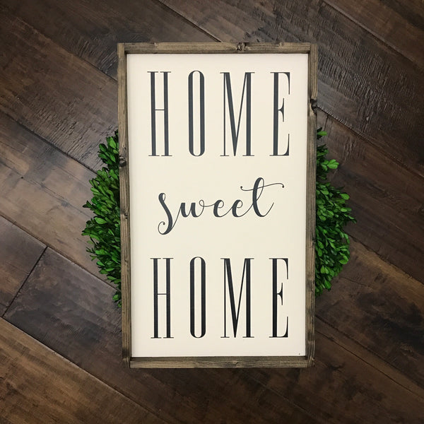 (M) Home Sweet Home - Ivory