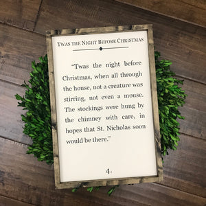 Night Before Christmas | Book Page