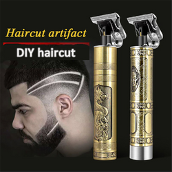 NEW USB RECHARGEABLE HAIR CLIPPER ELECTRIC FADER