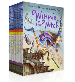 "Winnie the Witch ""Picture Book"" a full set of 14 books"