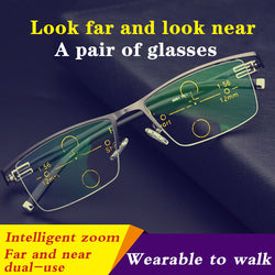 New Intelligent Color-changing Reading Glasses Resist Blue Light