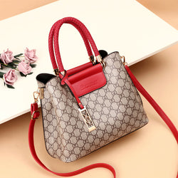 Luxury brand/leather fashion wild handbag