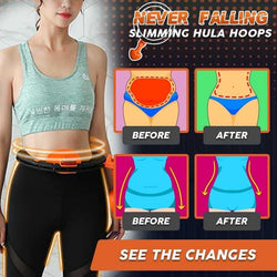 Never fall thin waist to lose weight hula hoop