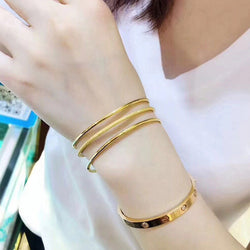 18K Three Rings Gold Bracelet【Christmas 50% OFF】