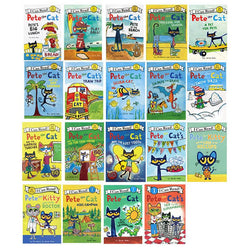 Pete the cat picture book 31 books 19 large books + 12 small books