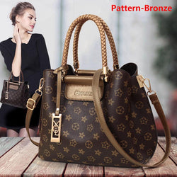 Luxury brand classic leather fashion handbag  (sold out soon)