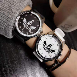 European street fashion trendy silicone men's and women's watches