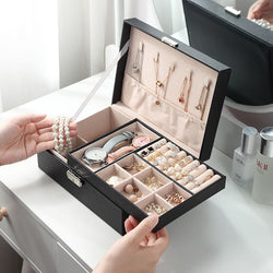 Multifunctional jewelry storage box
