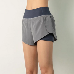 Fashionable 2-in-1 sports shorts 50% OFF