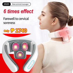 FLEX-NECK™ The New Electric Pulse Neck Massager