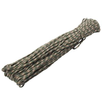 Mortal Survival Cordage 100FT 7 Core Stands Type III Paracord 550 Parachute Cord (Rope) for Survival Equipment