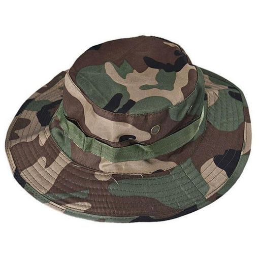 Mortal Survival Hat Jungle / One Size Military Style Men or Women's Hiking Wide Caps or Bucket Hat for Hunting, Fishing, Outdoor Survival