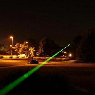 Mortal Survival Laser High Powered Military Style Adjustable Focus Green Laser Pointer Pen