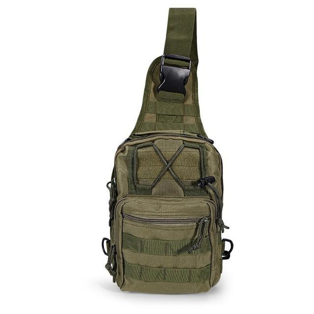 Mortal Survival & More!! Backpack 05 Rugged 600D Military Shoulder Bag for Camping, Hiking, Tactical Operations, Survival and More