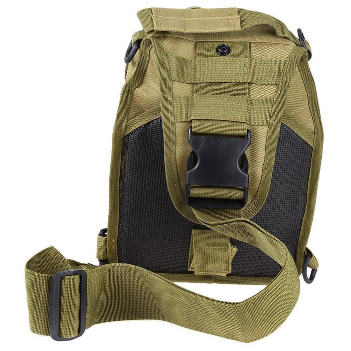 Mortal Survival & More!! Backpack Rugged 600D Military Shoulder Bag for Camping, Hiking, Tactical Operations, Survival and More