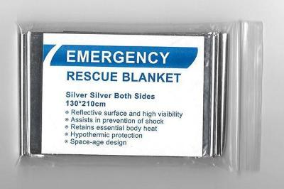 Mortal Survival Rescue Blanket Emergency Rescue Blanket; Insulating