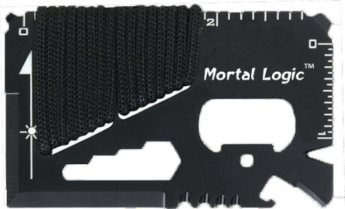 Mortal Survival Tool 14 in 1 Multi-Function Credit Card Survival Tool
