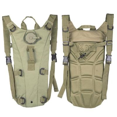 (NEW) 3 Liter Portable Hydration Camel Water Bladder for Tactical, Bicycle, Camping, Hiking, Survival & Emergencies