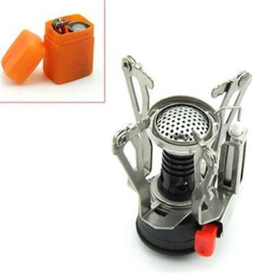 (NEW) Outdoor Lightweight Portable Folding Camping or Survival Gas Stove Burner With Box