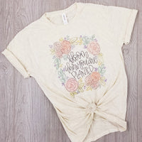 Bloom where you are planted • Tee